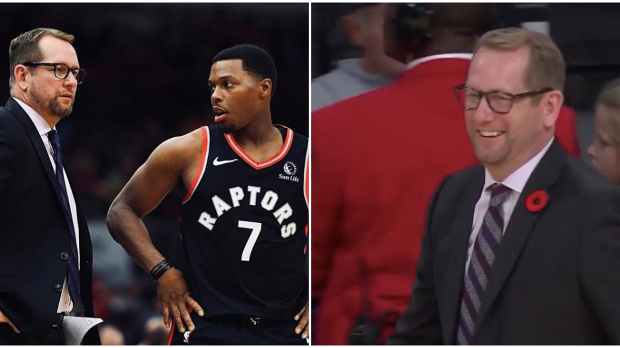 Nick Nurse Song Choice For His Potential Walkout Tune Has Delighted Raptors Fans