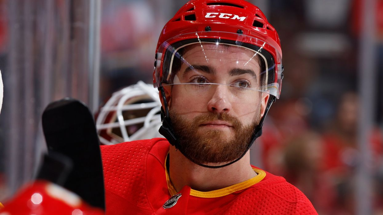 Calgary Flames' T.J. Brodie Collapsed On The Ice Today & Fans Are Very Worried