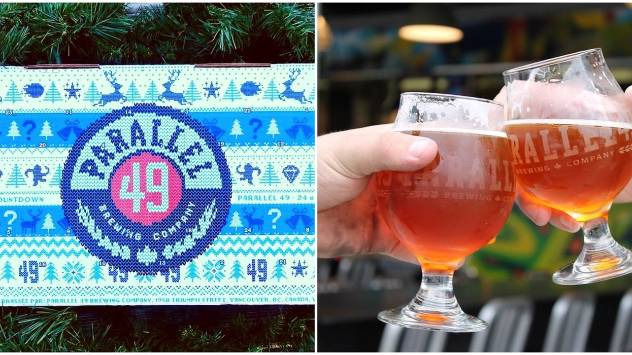 Beer Advent Calendar Is Here In BC To Make The Holidays Extra Cheerful