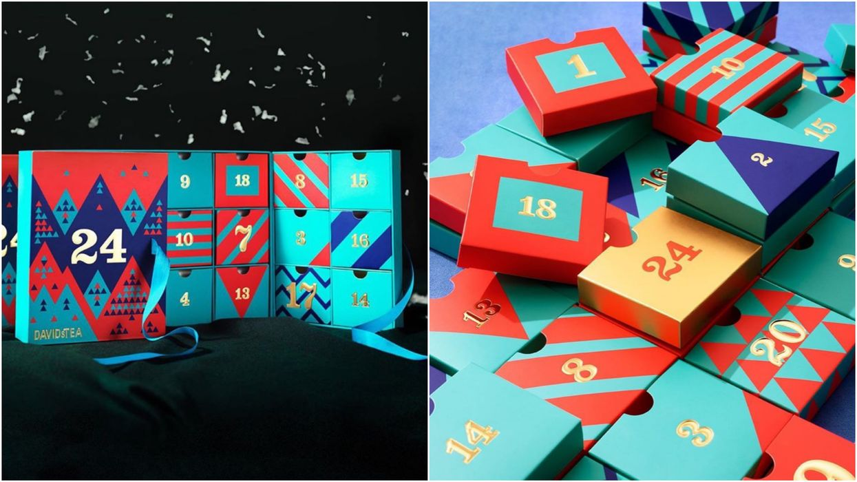 DAVIDsTEA Christmas Advent Calendars Are On Sale Right Now