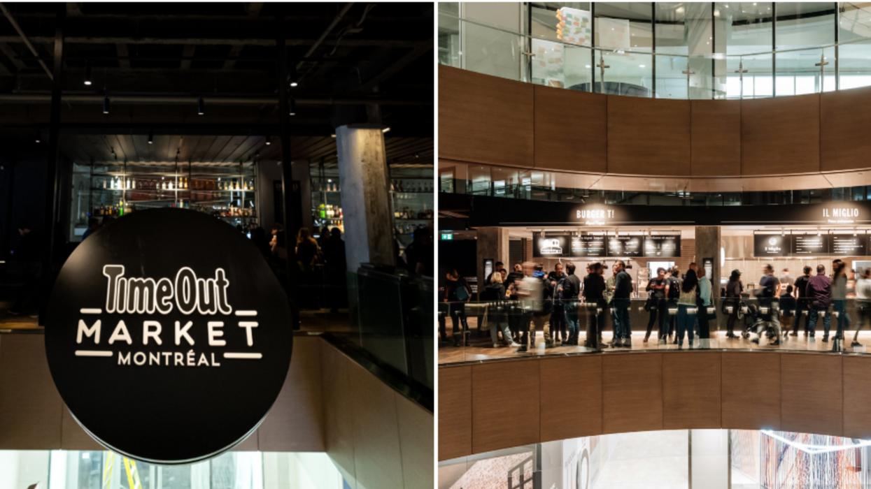 Le Time Out Market de Montréal est ouvert et c'est aussi gourmand qu'abordable