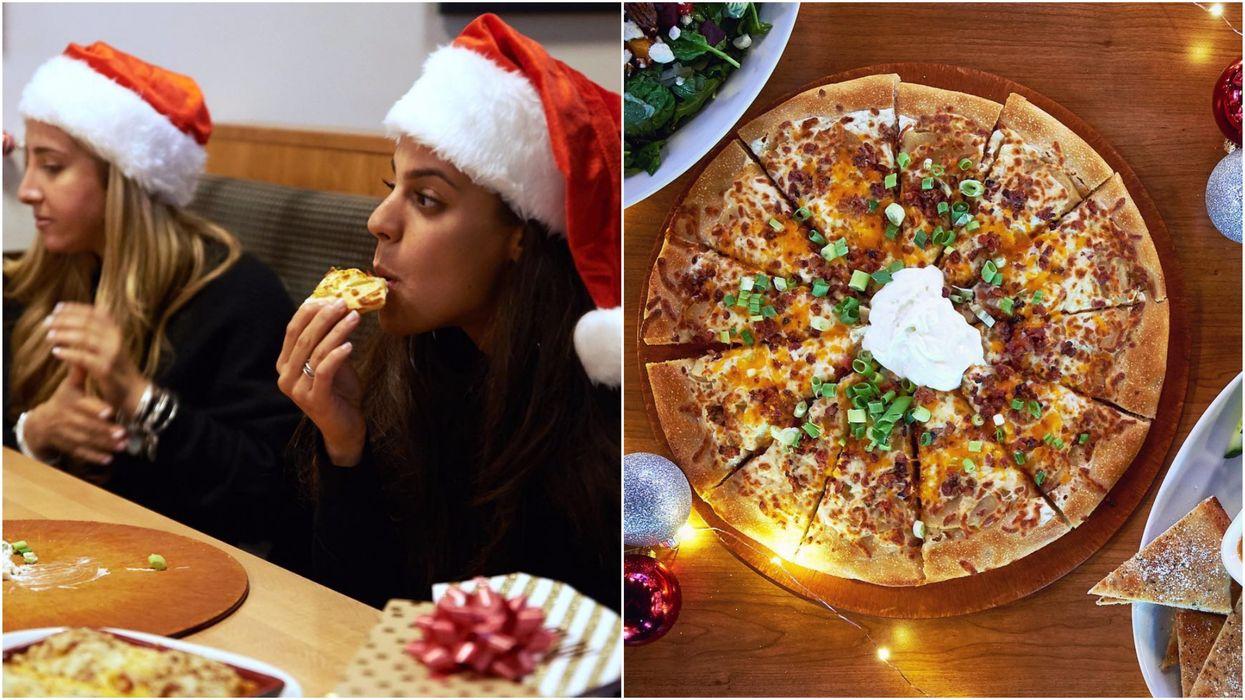Boston Pizza Has A New Festive Menu & There's Even A Christmas Poutine