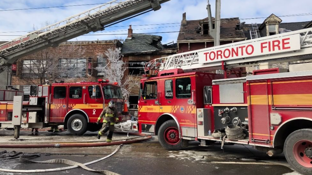 A Massive Apartment Fire In Toronto Has Killed A Person & Displaced 700 Others