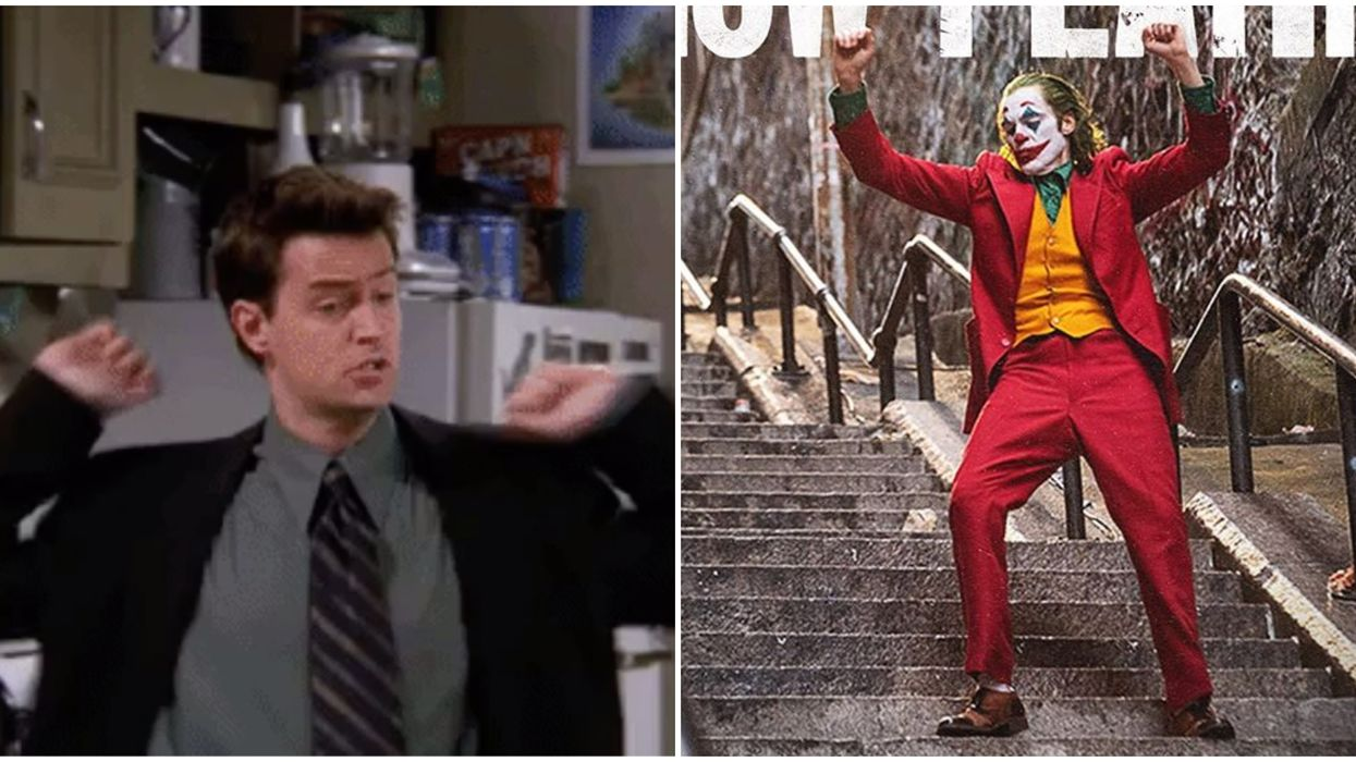 Matthew Perry's The Joker Comparison Is The Quality Friends Content You Need