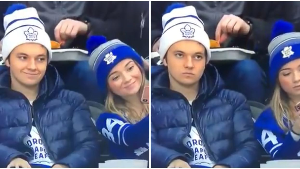 Toronto Maple Leafs Fan Went Viral For His Hilarious Reaction To The Team's Loss