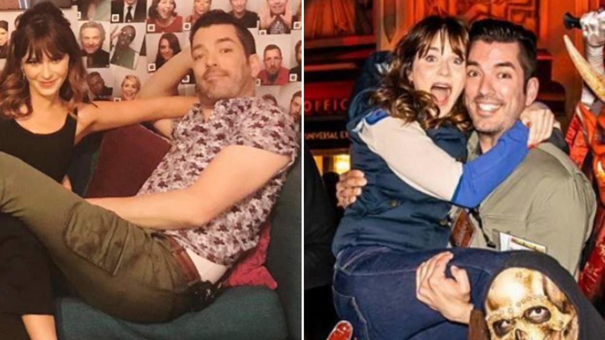 Jonathan Scott and Zooey Deschanel Dating Still Going Strong