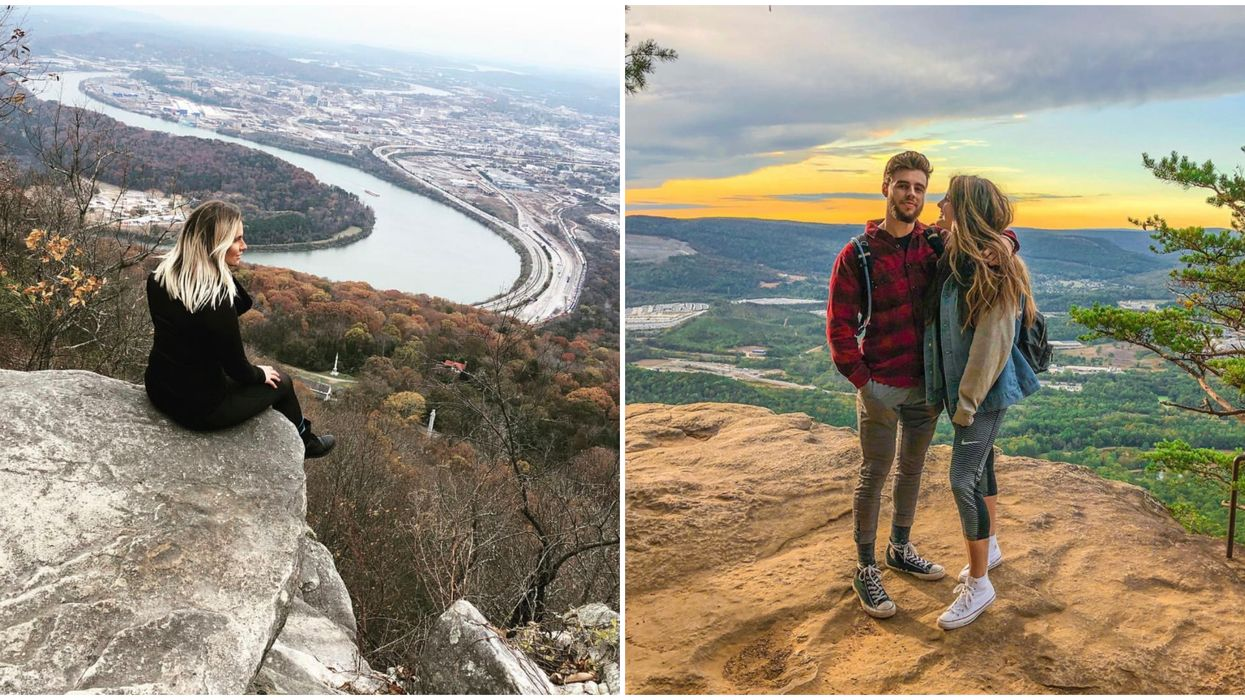 This Easy Hike In Chattanooga Has The Best Panoramic Views Of Tennessee