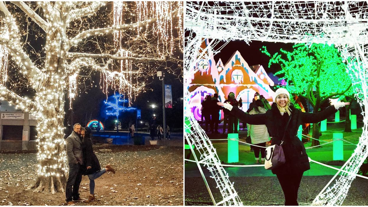 Ontario Christmas Light Displays That Will Make Your Holiday Season A Fairy Tale