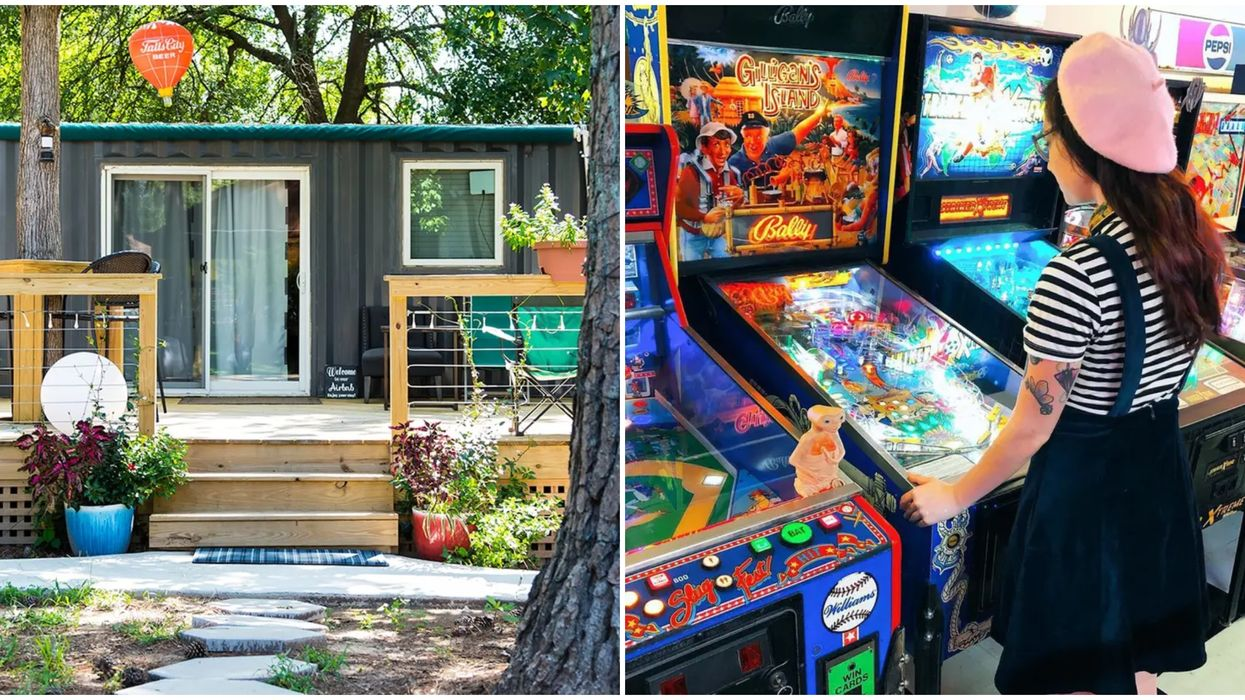 This Tiny Home Airbnb Near Atlanta Has A Massive Arcade Attached