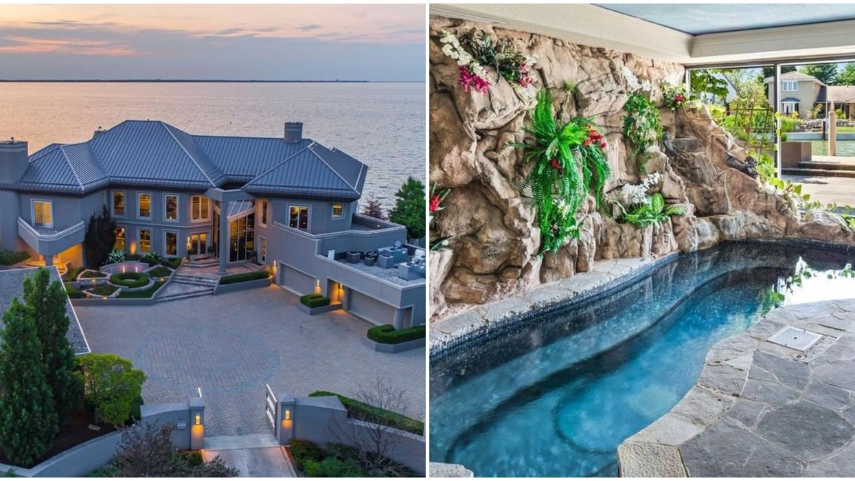 This Ontario Mansion Is So Ridiculous You'd Have To Charge Your Friends Admission
