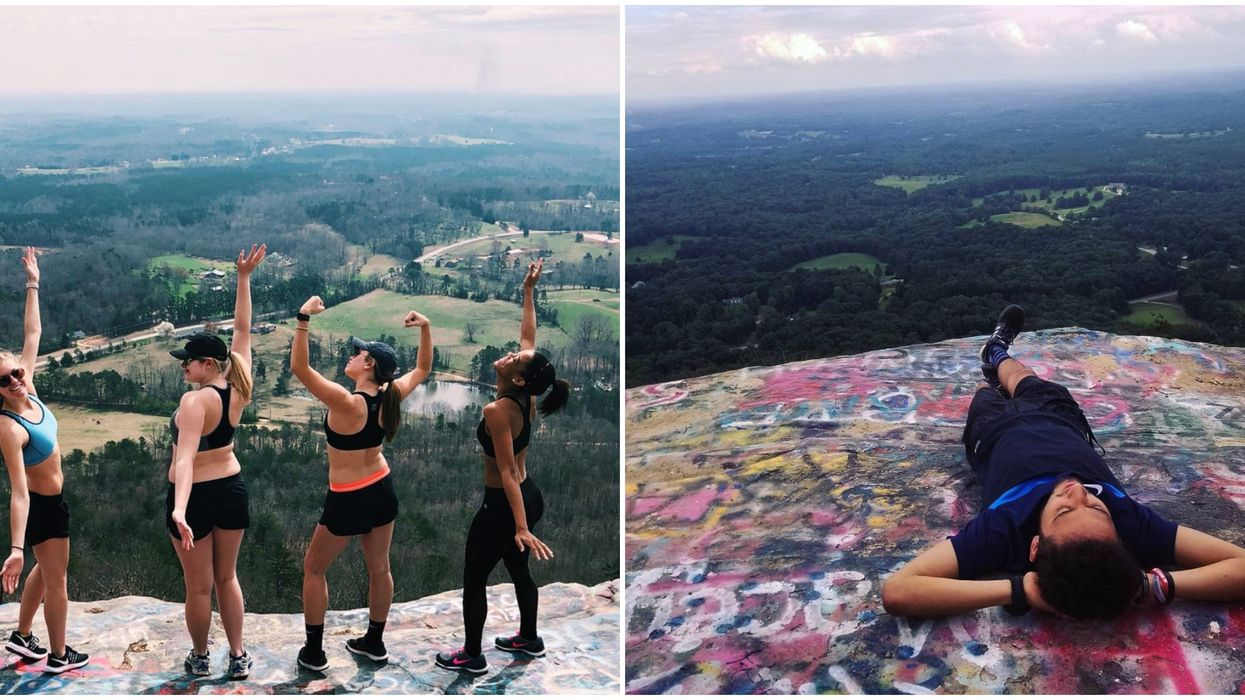 The Most Beautiful Views In Georgia Can Be Found At This Mountain Hike
