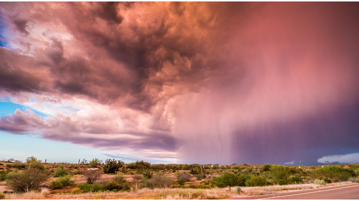 Arizona Will Experience Thunderstorms & Potential Flash Floods This Week