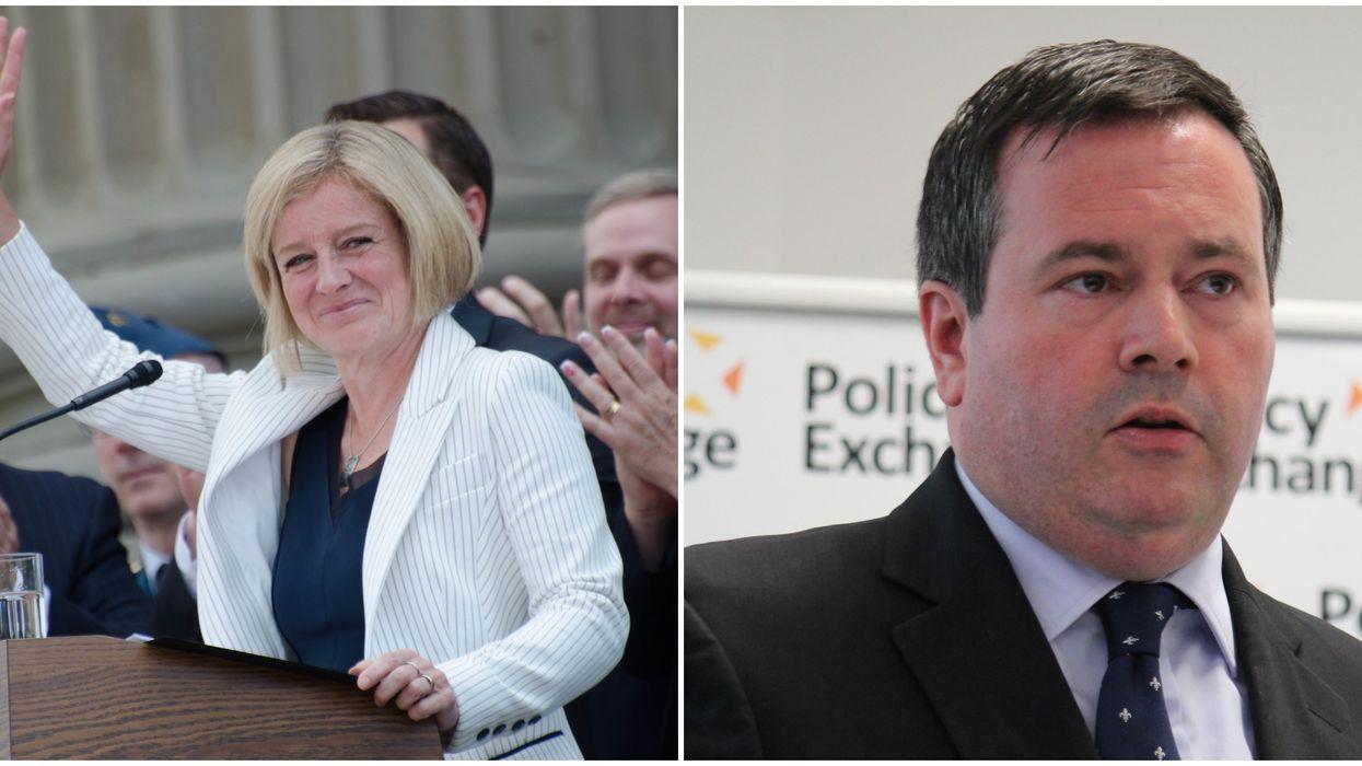 Rachel Notley & Jason Kenney's Feud Intensified When She Got Kicked Out Of The Albertan Legislature