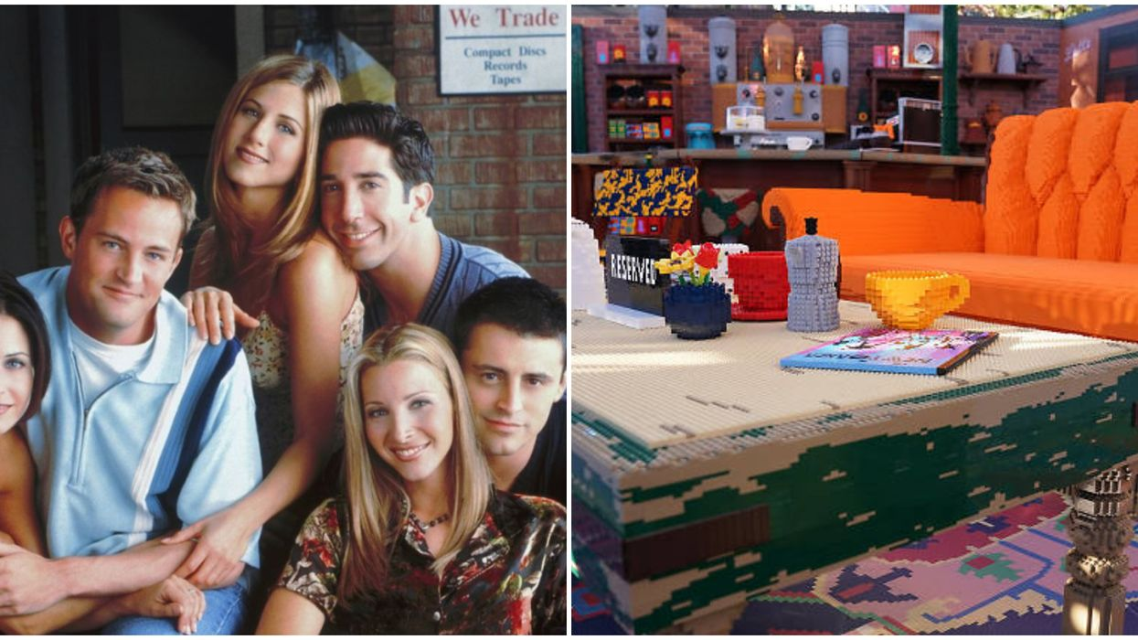 This Friends Lego Pop Up Coming To California Is A Dream Come True For Central Perk Fans