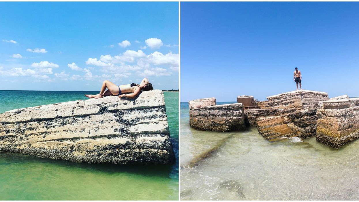 Abandoned Places To Explore In Florida Include Fort Ruins At This Pinellas State Park
