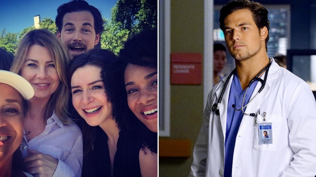 Giacomo Gianniotti Grey's Anatomy Season 16