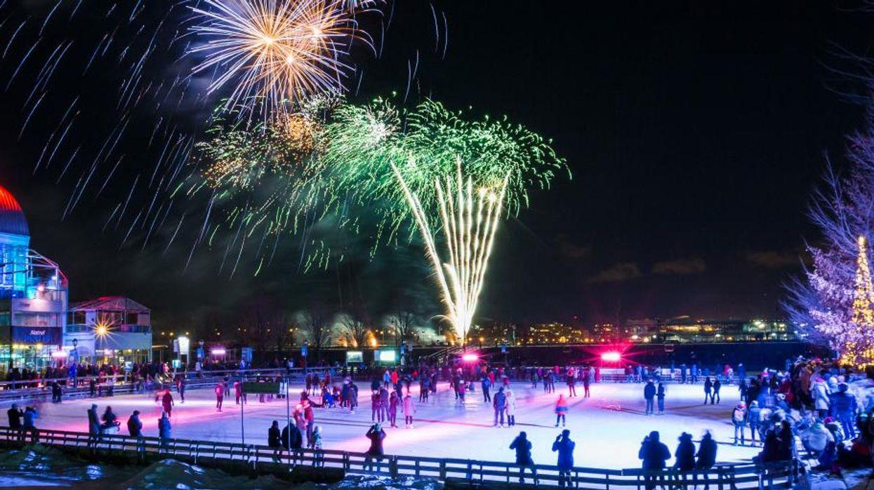 31 dates: Tu peux aller voir des feux d'artifices gratuits dans le Vieux-Port de Montréal