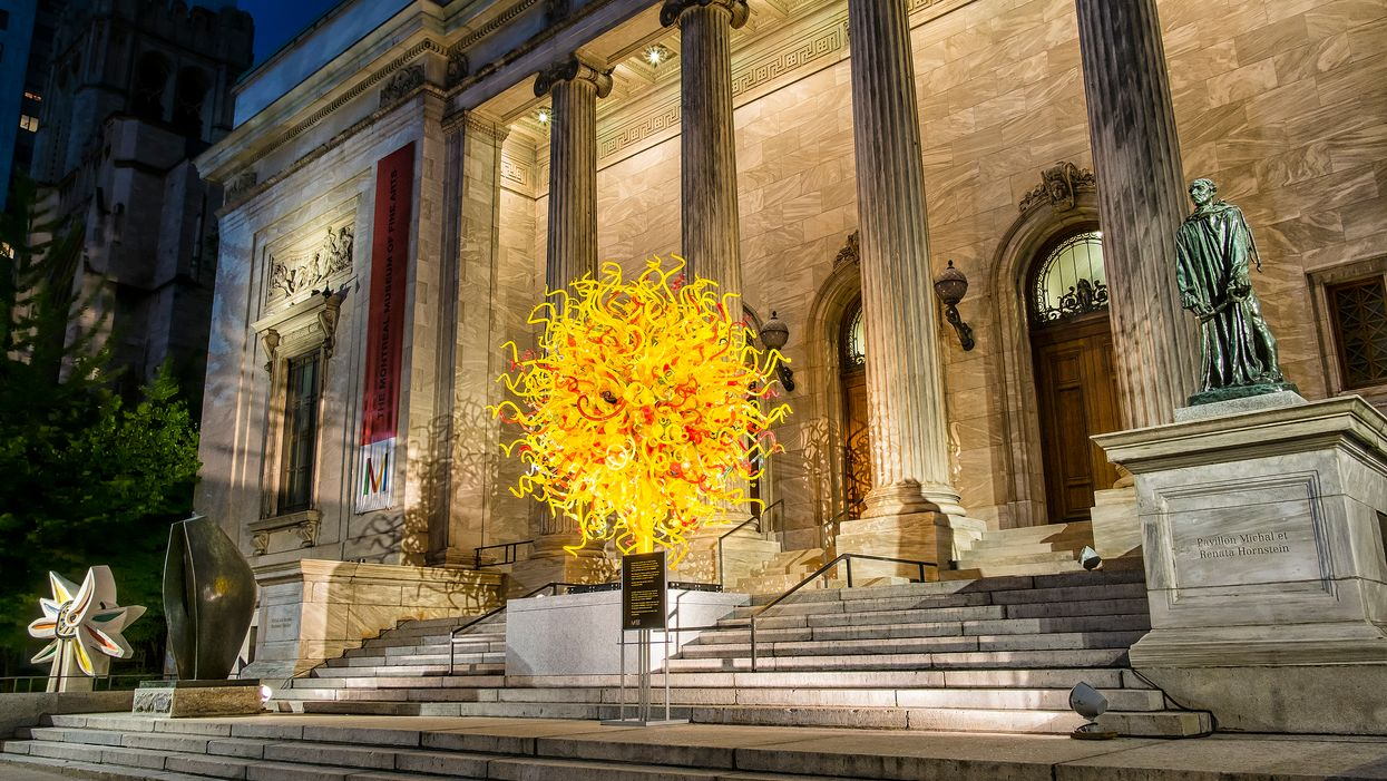 Le Musée des beaux-arts de Montréal sera gratuit pendant le temps des Fêtes