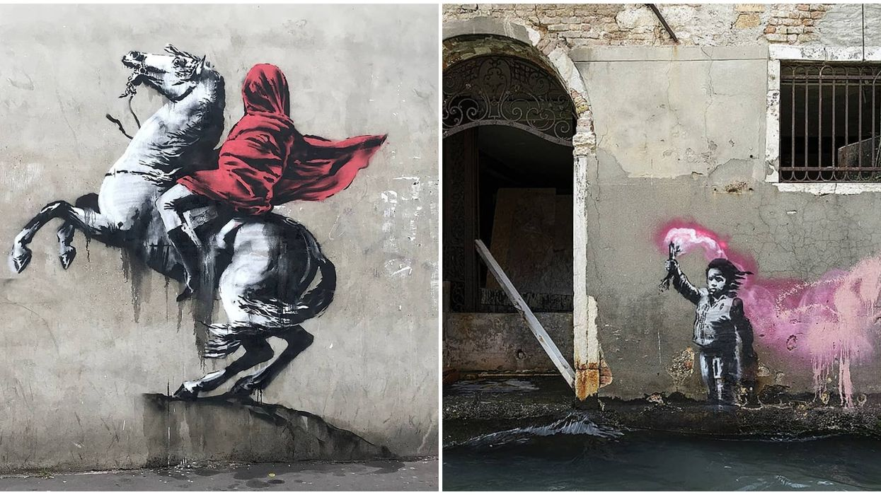 You Don't Want To Miss This Banksy Exhibition Coming To Las Vegas Soon