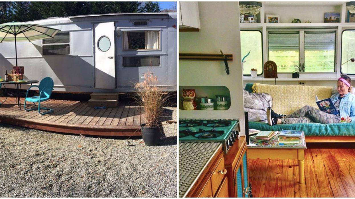 This Glamping Camper In North Carolina Is The Perfect Getaway