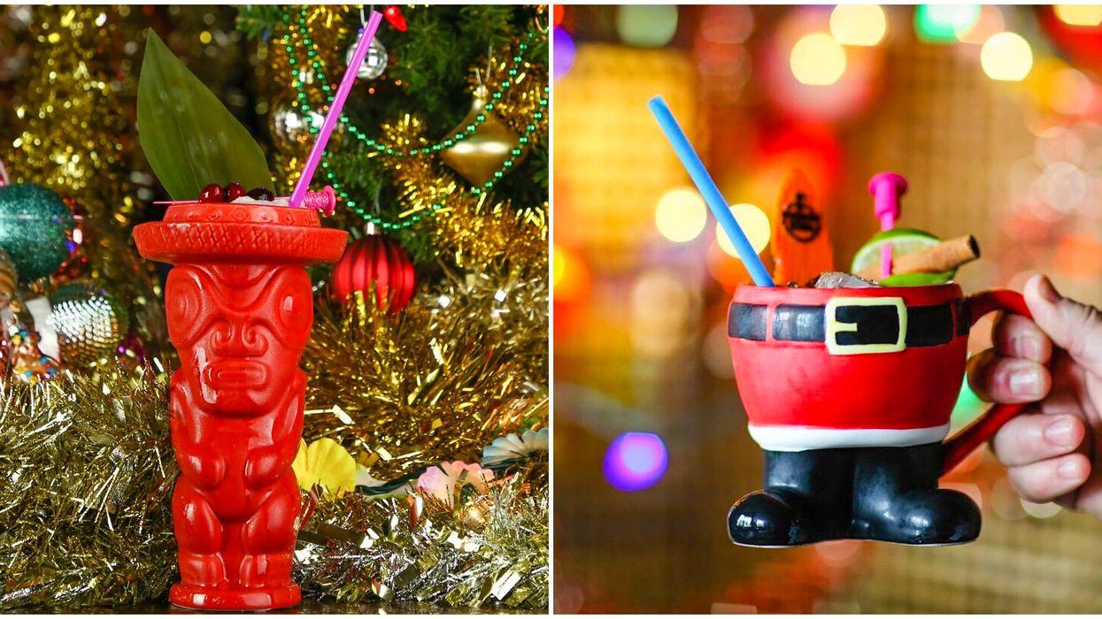 Christmas Pop-up Bar InCalgary Has A Tropical Tiki Theme You Need To See