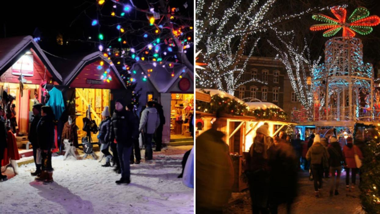 14 marchés de Noël au Québec complètement magiques à visiter en 2019