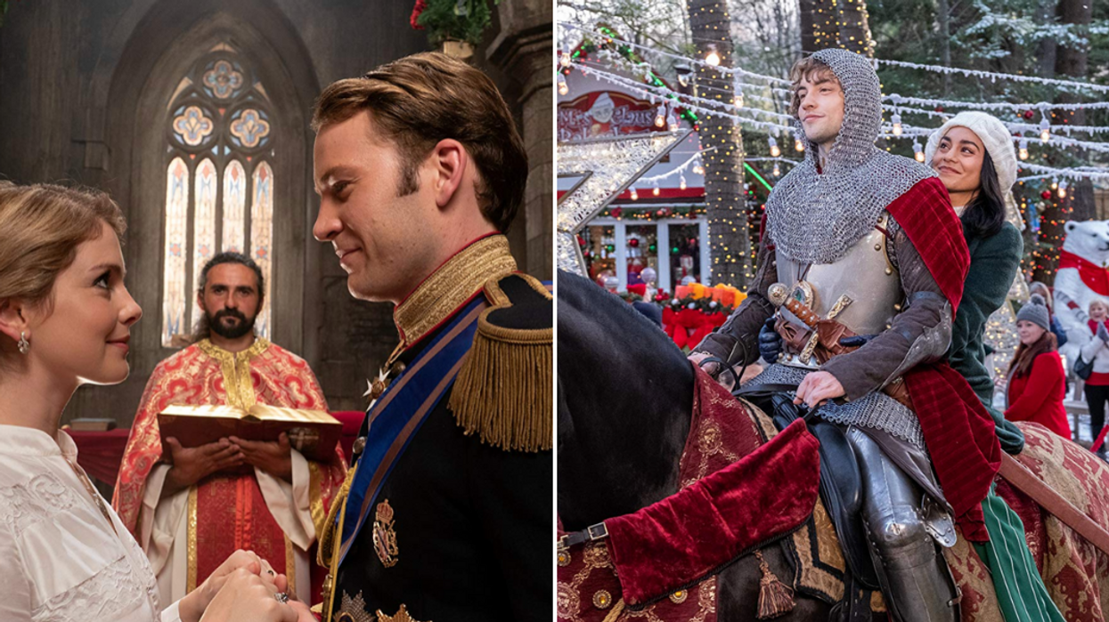 Netflix The Knight Before Christmas And The Christmas Prince Crossover
