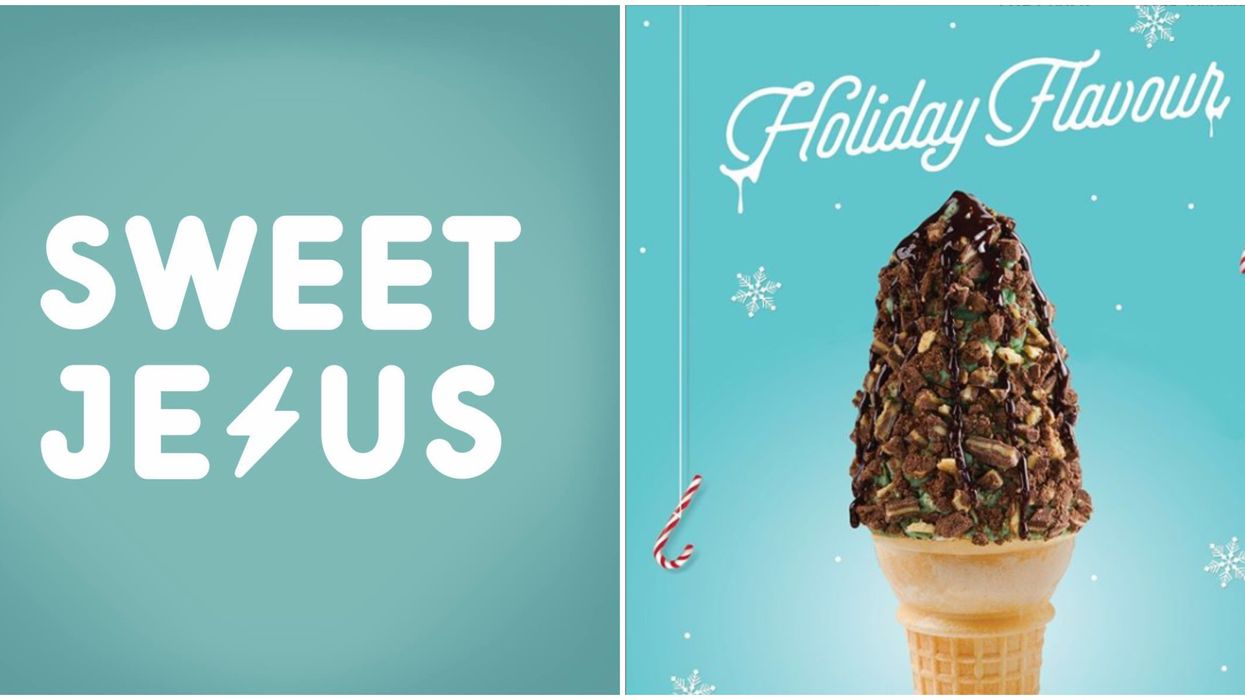 Sweet Jesus Holiday Ice Cream Cone Is Here For A Limited Time This Christmas