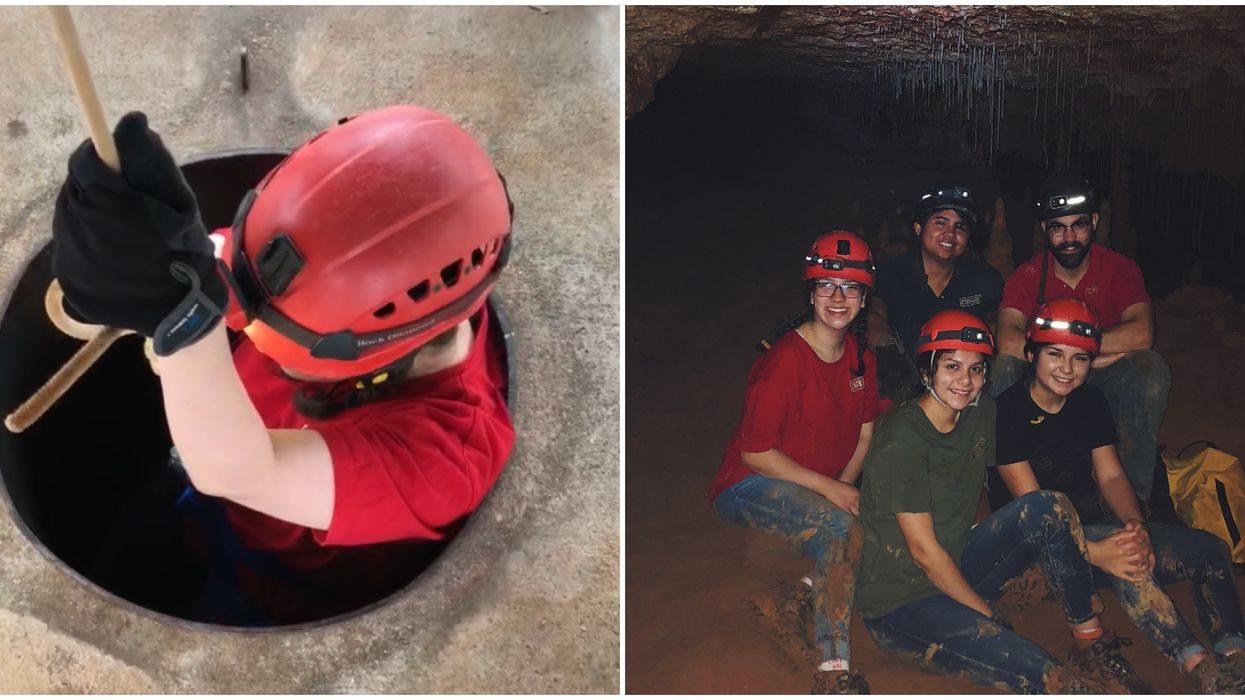 A San Antonio Cavern System Offers Adventure Tours On The Weekends