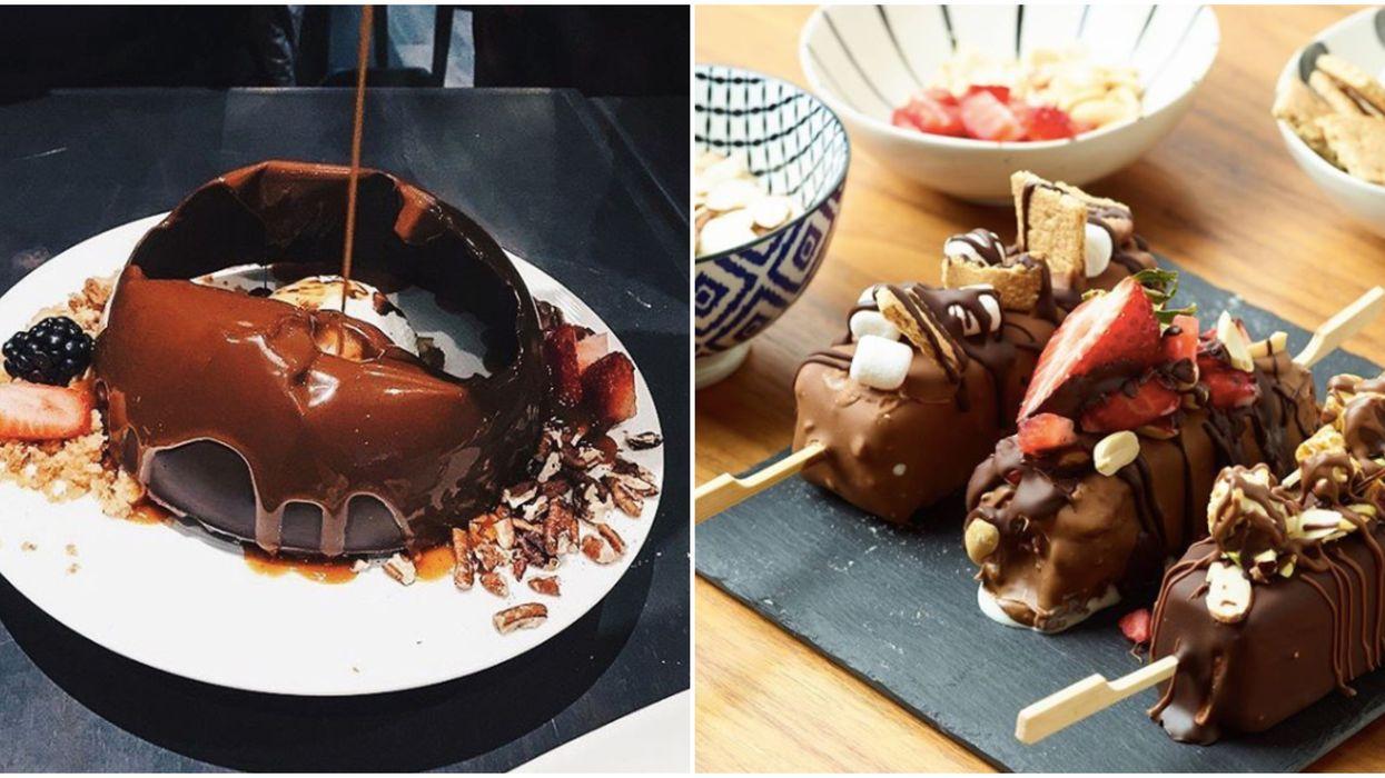 31 dates : Tu peux te bourrer la face de décadents desserts chocolatés à ces 7 restos à Montréal