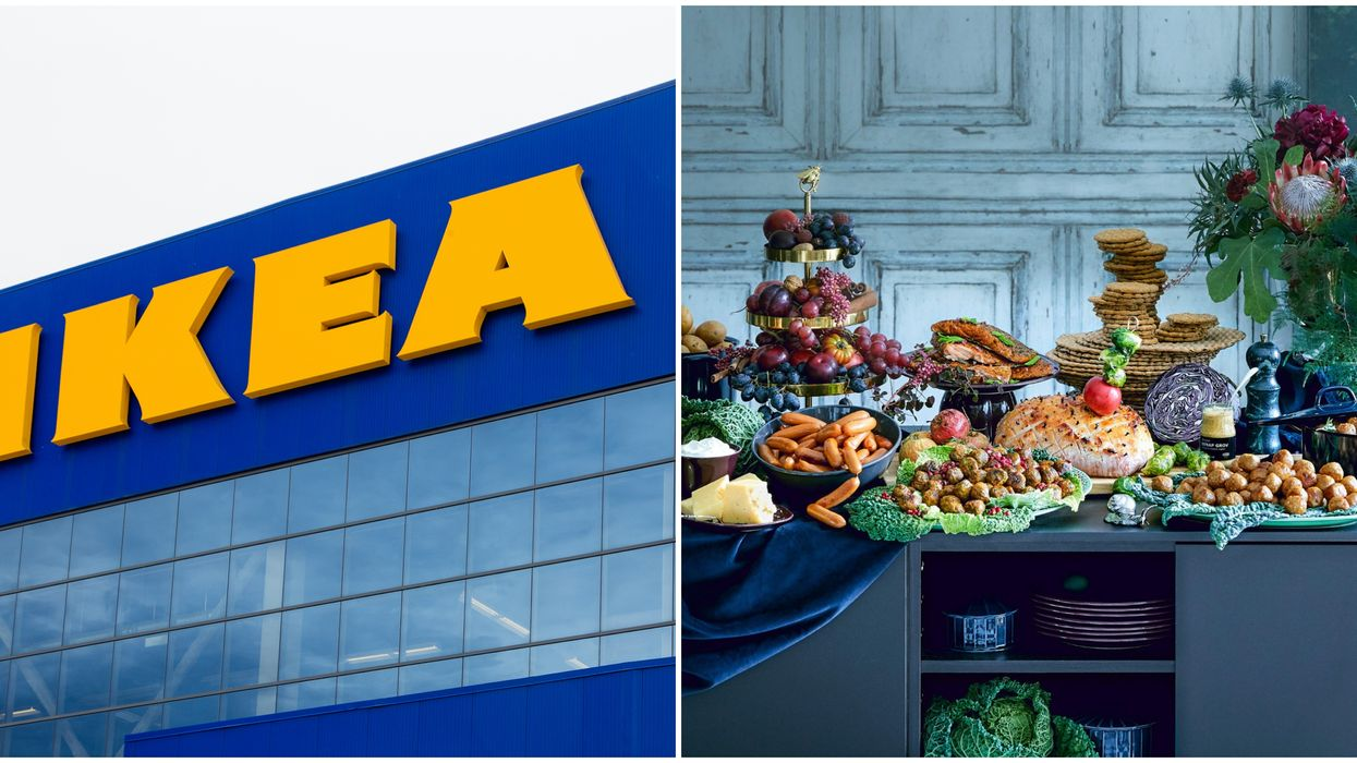 IKEA Stores Across Canada Are Hosting AYCE Swedish Christmas Buffets Next Month
