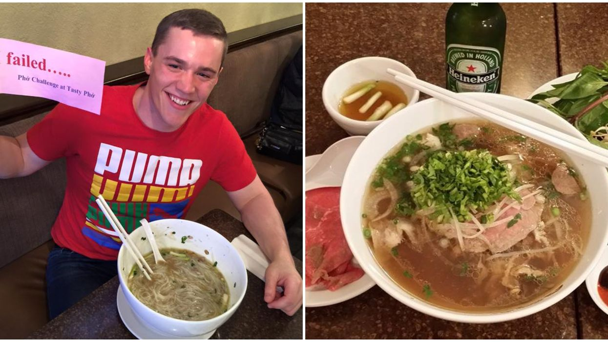 Florida's Tasty Pho Food Challenge Will Crown You Pho-King If You Conquer It