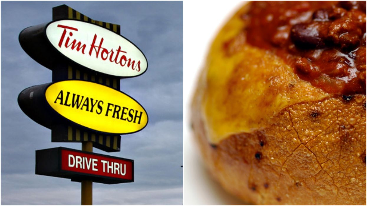 Tim Hortons' Bread Bowls Have Been Spotted Again In Canada (PHOTOS)