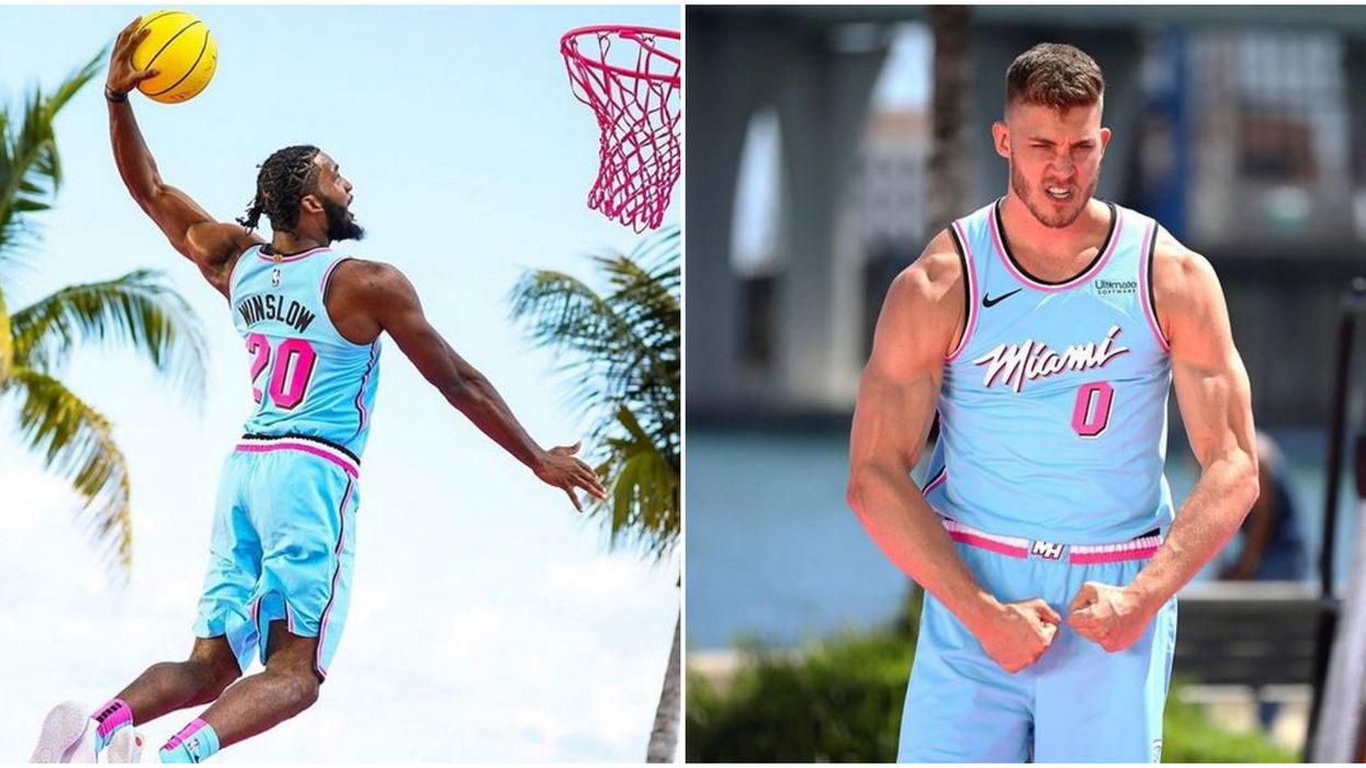Miami Heat's New ViceWave Jersey Is Total 'Vice City' Vibes