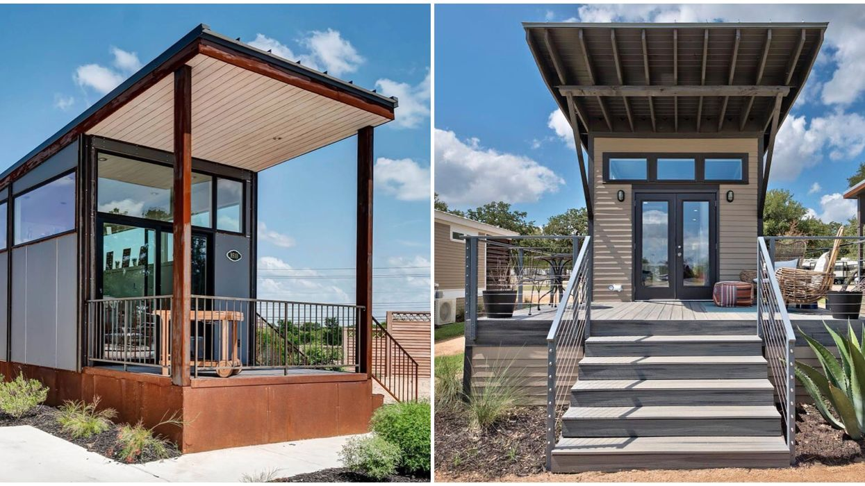 Austin Has A Tiny Home Village That You Can Rent And Live In