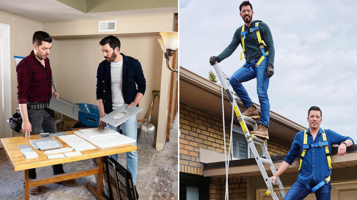 The Property Brothers Net Worth Really Shows How Hard They Work