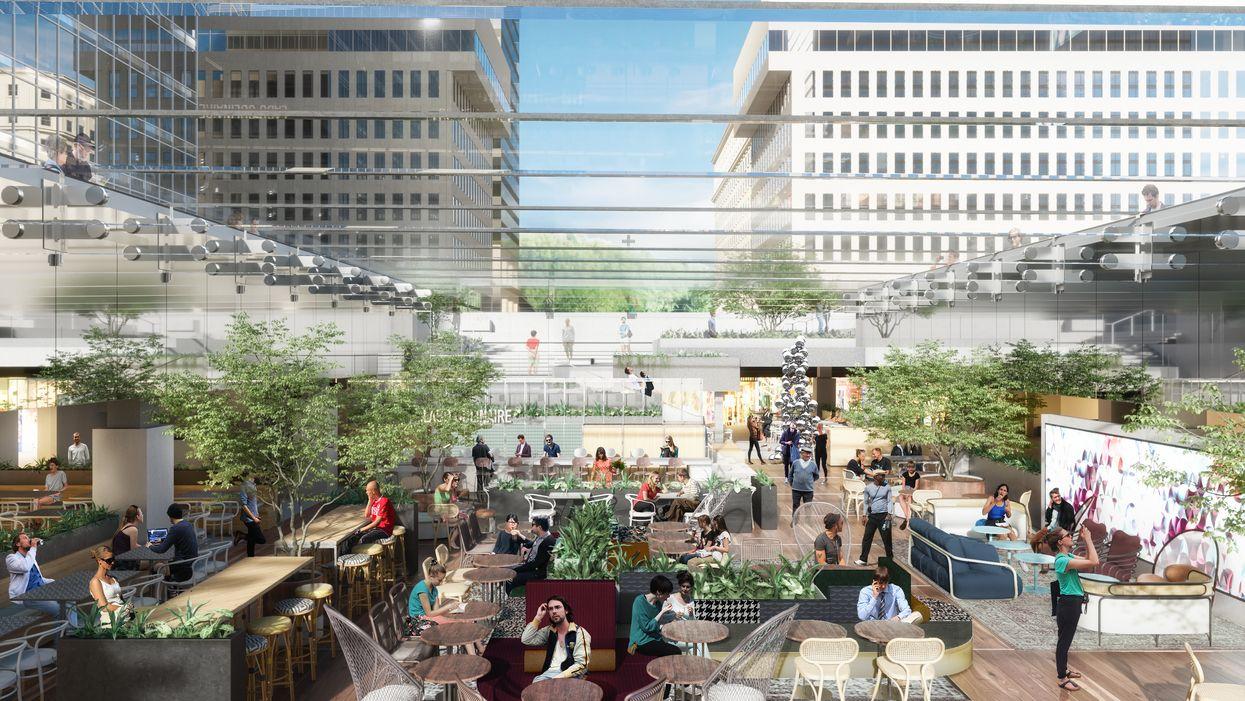 La nouvelle halle gourmande avec un immense « beer garden » ouvre cet hiver à Montréal