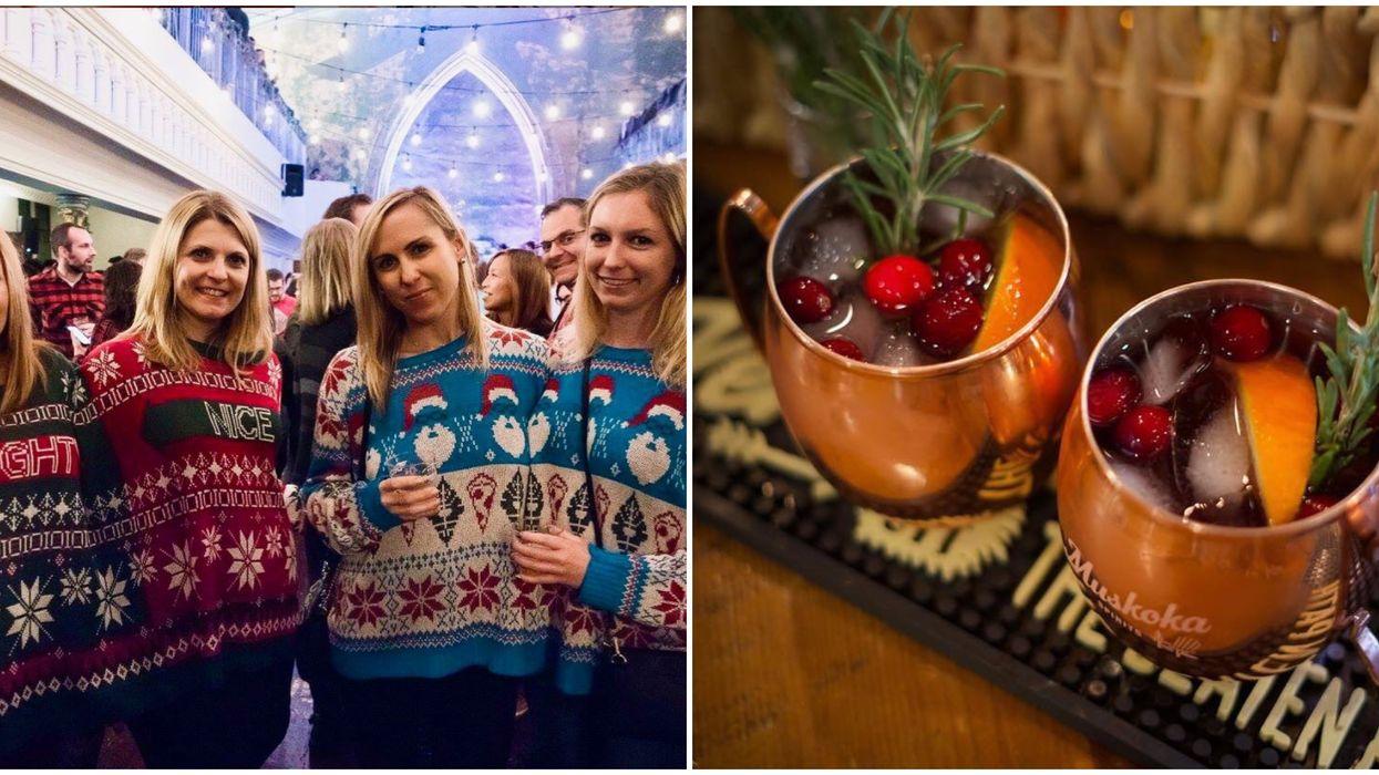 Toronto's Hoppy Holidays Cocktail Festival Has Christmas Themed Boozy Drinks