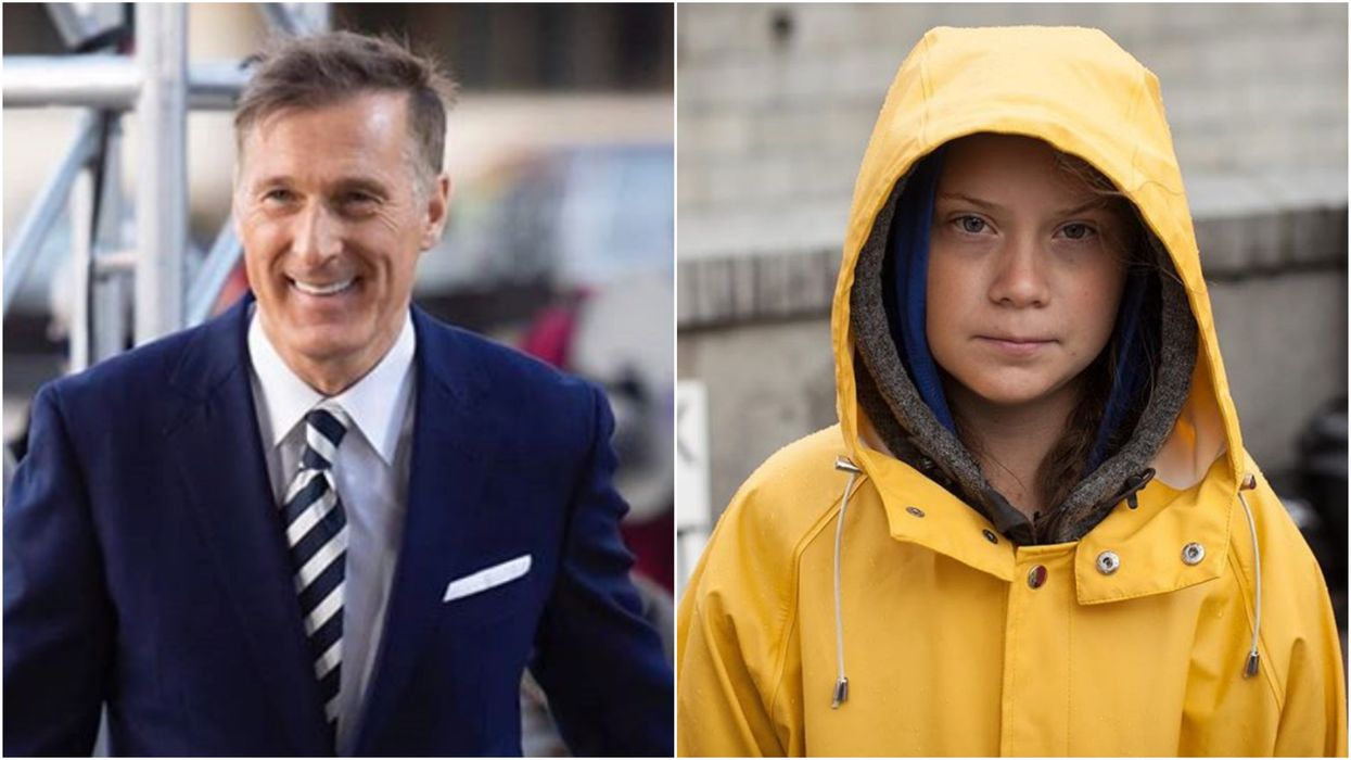 Maxime Bernier's Greta Thunberg Tweet Is The 4th Time He's Dragged Her Online