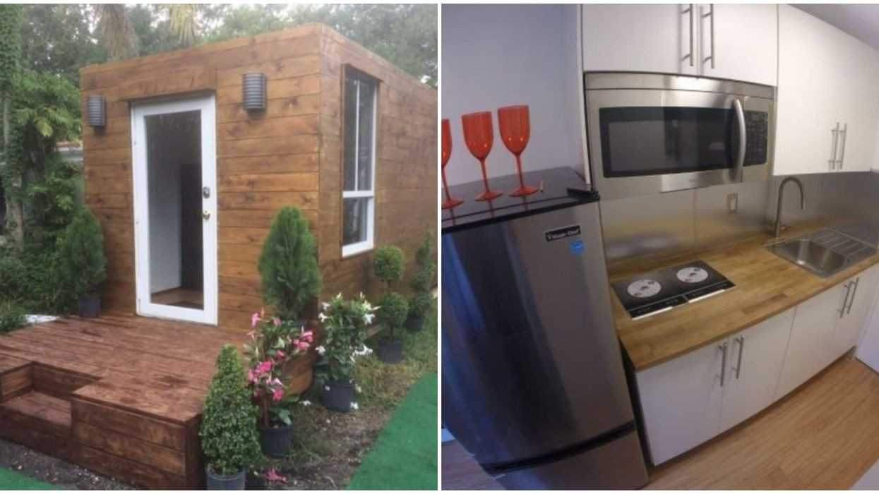 This Brand New Shipping Container Tiny Home In Florida Is Super Affordable