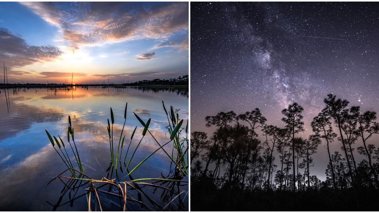 This Wildlife Preserve In Florida Offers Some Of The Most Unreal Views Of The Sky