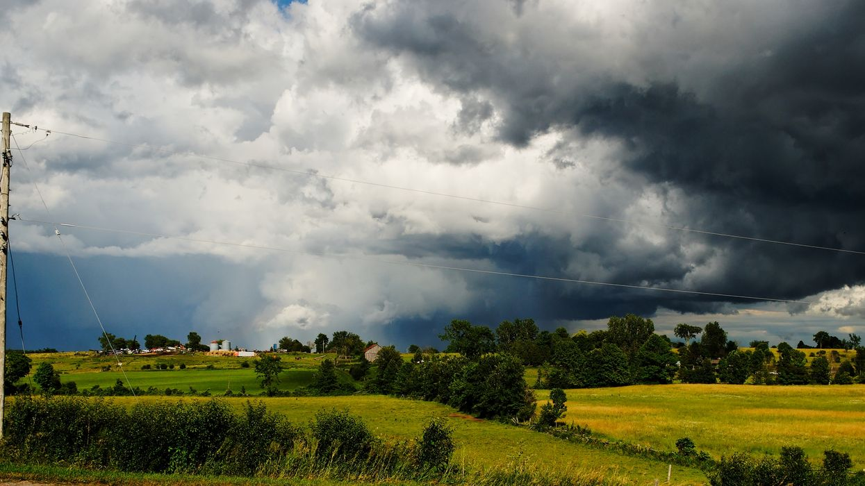 A Large Storm Headed For Ontario Today Could Cause Hail Damage And Flooding