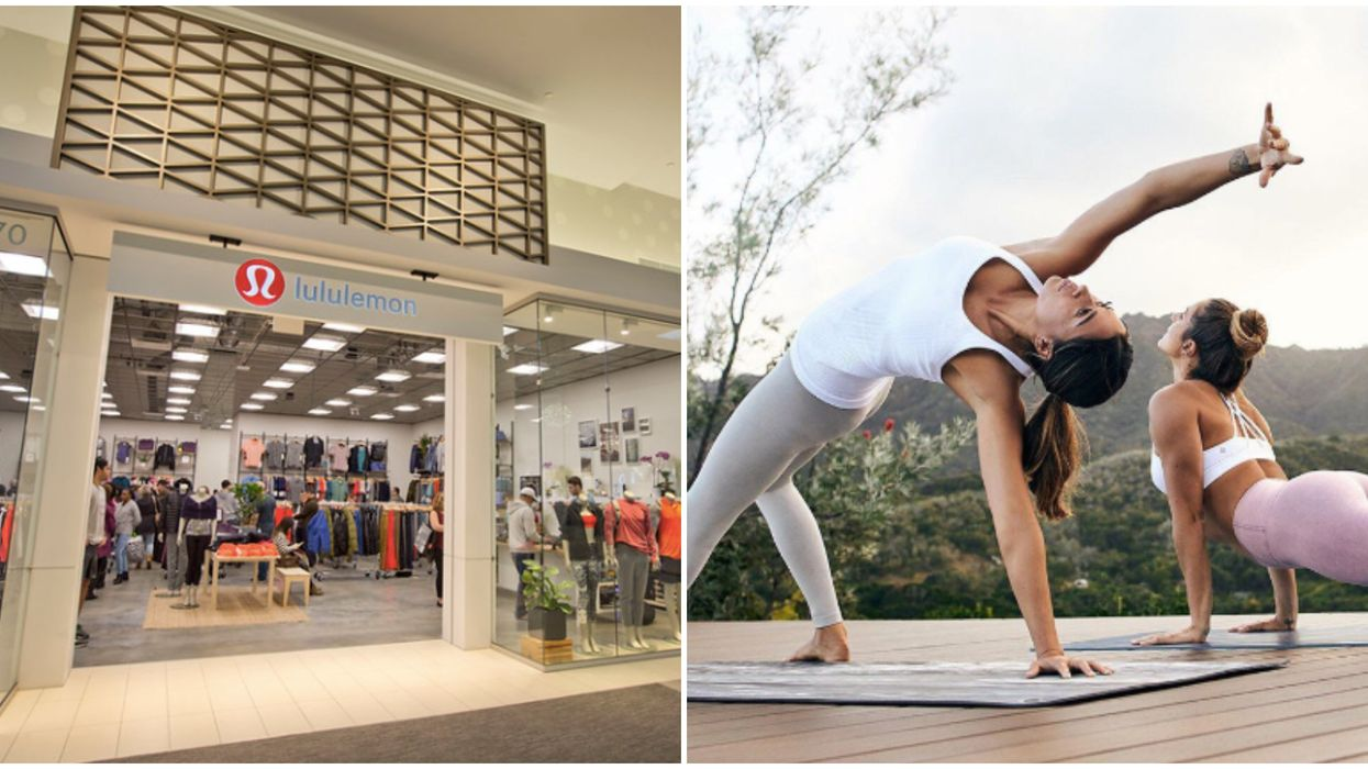 """Lululemon Is Having A Massive """"We Made Too Much"""" Sale Across Canada Right Now"""