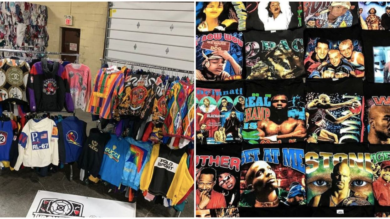 A Huge Vintage '80s And '90s Streetwear Sale Is Coming To Toronto This Weekend (PHOTOS)