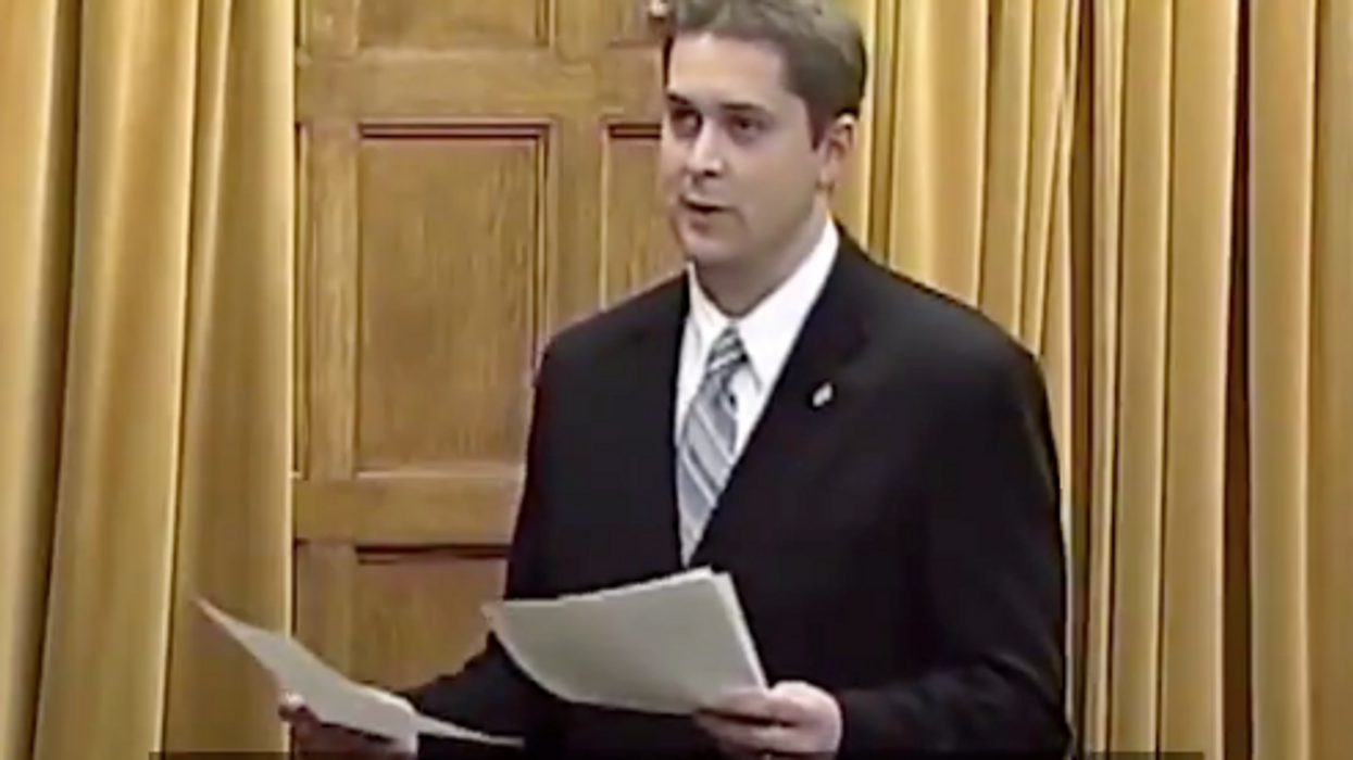 Andrew Scheer's 2005 Speech On Why Gay Marriage Shouldn't Be Legal Just Came Back (VIDEO)