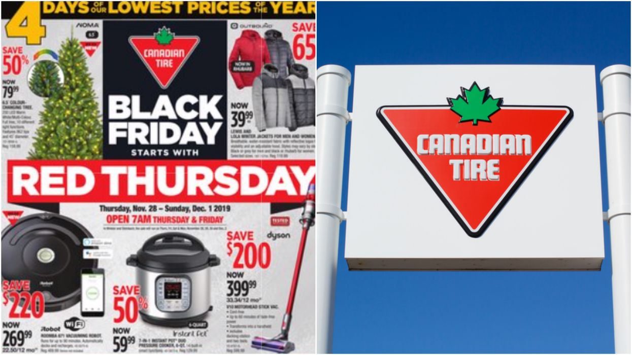 Canadian Tire Just Created A Completely New Sale Day & There's Up To 75% Off