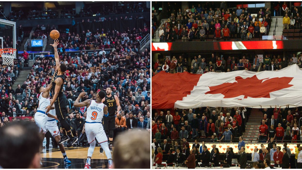 Canadian NBA Players Made History By Playing Together Last Night