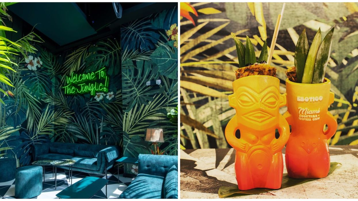 Miami Just Got The Coolest Tropical Tiki Bar With The Best Pacific Vibes