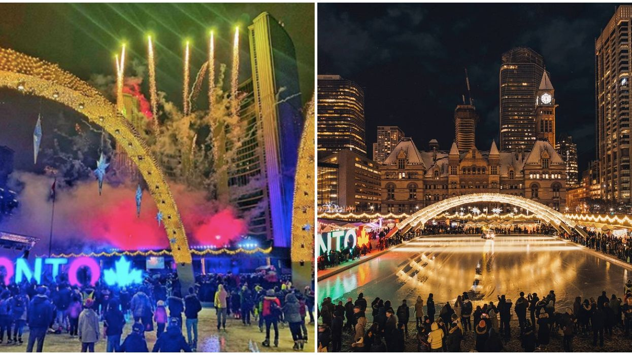 Cavalcade Of Lights Toronto Kicks Off The Holiday Season In Style This Weekend
