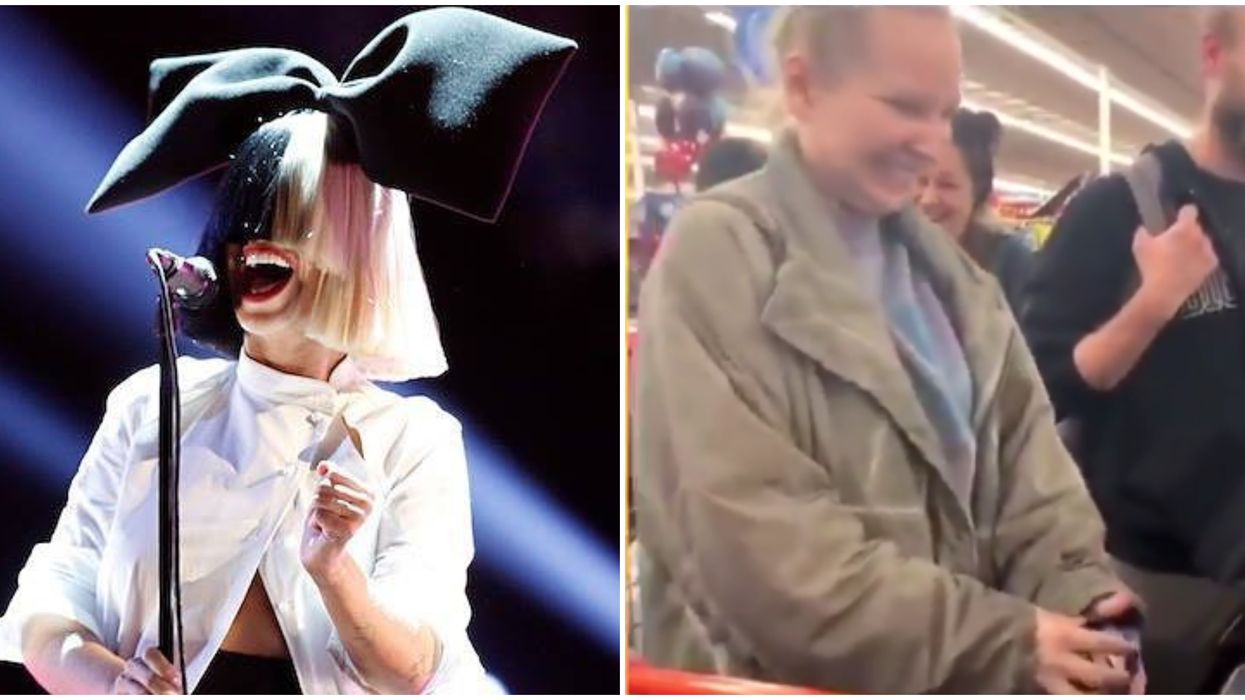 Sia Just Paid For Everyone's Groceries At A California Walmart For Thanksgiving